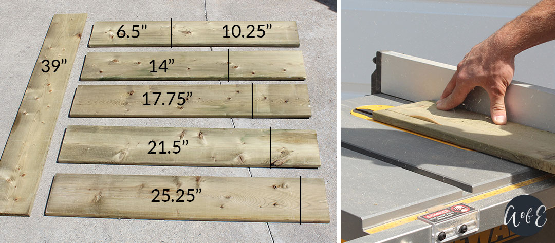 Step 1: Measure and Cut Your Wood Pieces