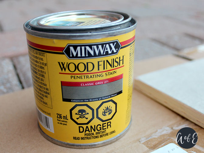 Step 3: Stain/Paint Wooden Tree