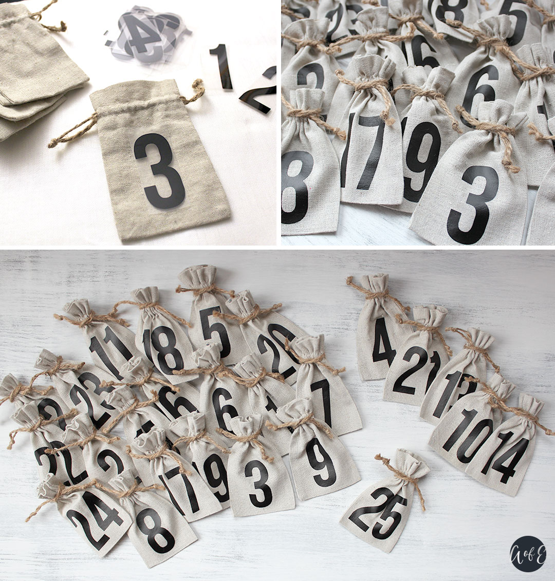 Diy Wooden Tree Advent Calendar Abundance Of Everything
