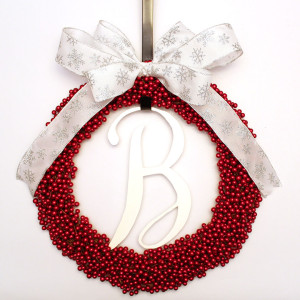 completed wreath