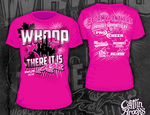 Ultimate Canadian Cheer Worlds 2016 t-shirt