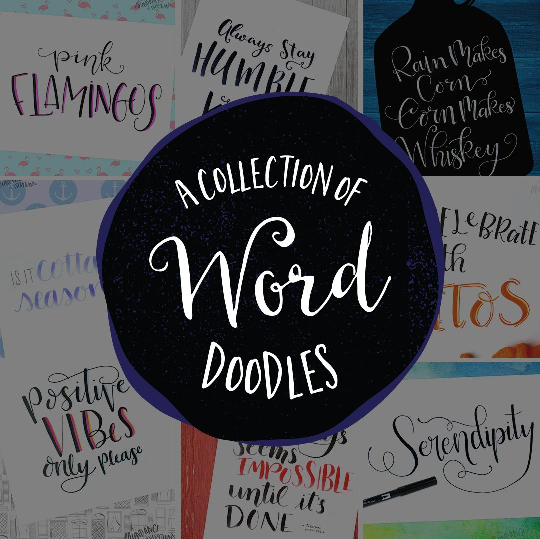 A Collection of Word Doodles