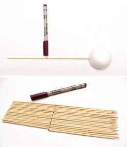 measure the length of your skewers